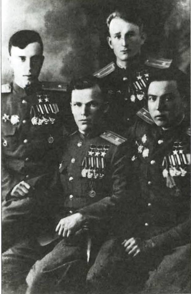 трижды герой советского союза список