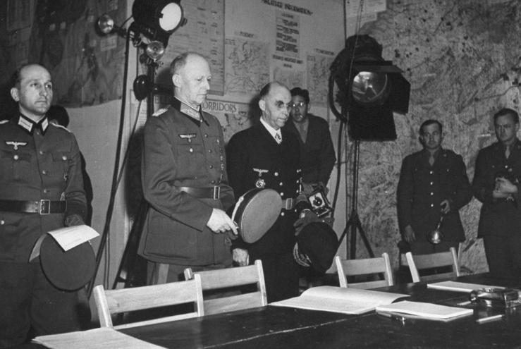 капитуляция фашистской германии