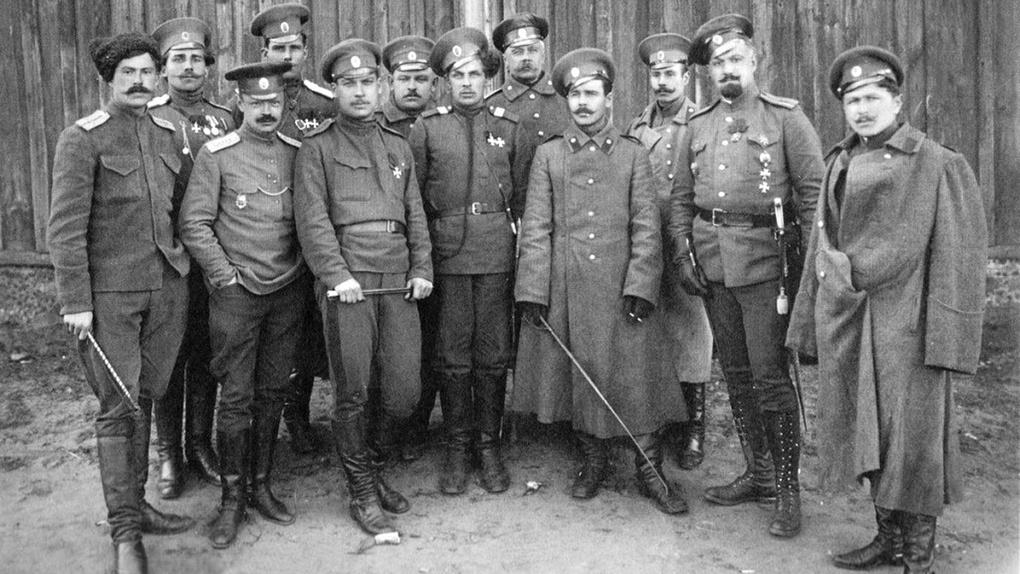 козьма крючков легендарный герой первой мировой войны