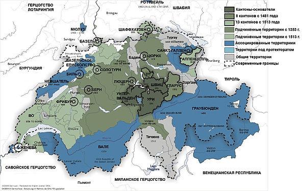почему швейцария не участвовала в войнах