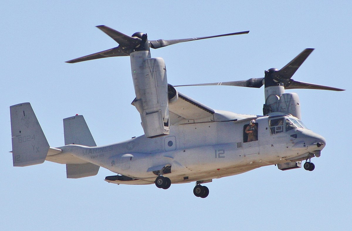 тяговооруженность osprey