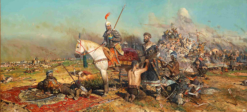 злой город монголо татары