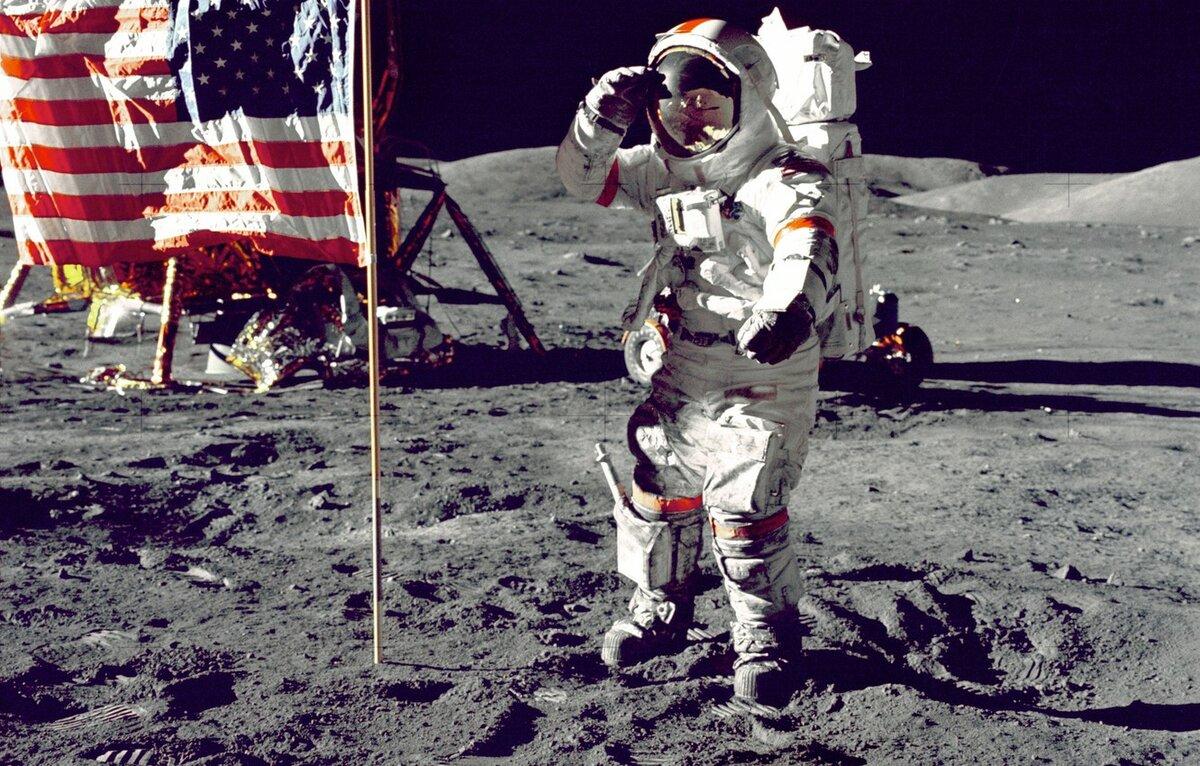 американцы на луне правда