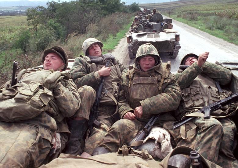 страшные фото чеченской войны
