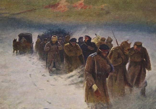 ледяной поход корнилова