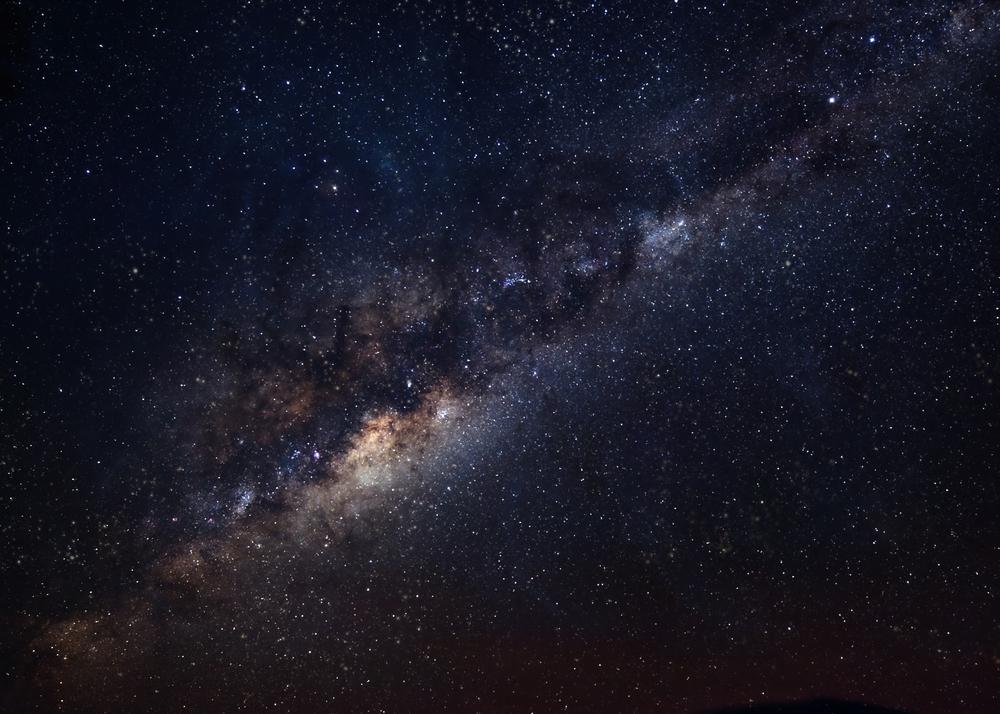 туманность андромеды на небе