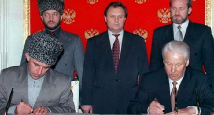 подписание хасавюртовских соглашений год