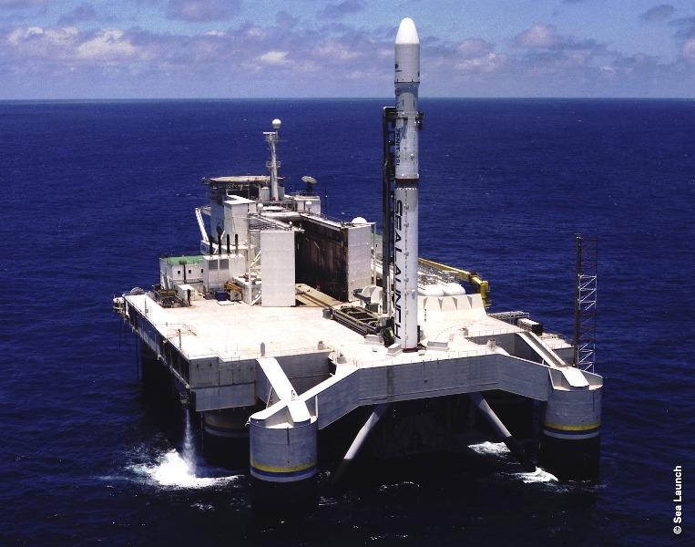 плавучий космодром морской старт