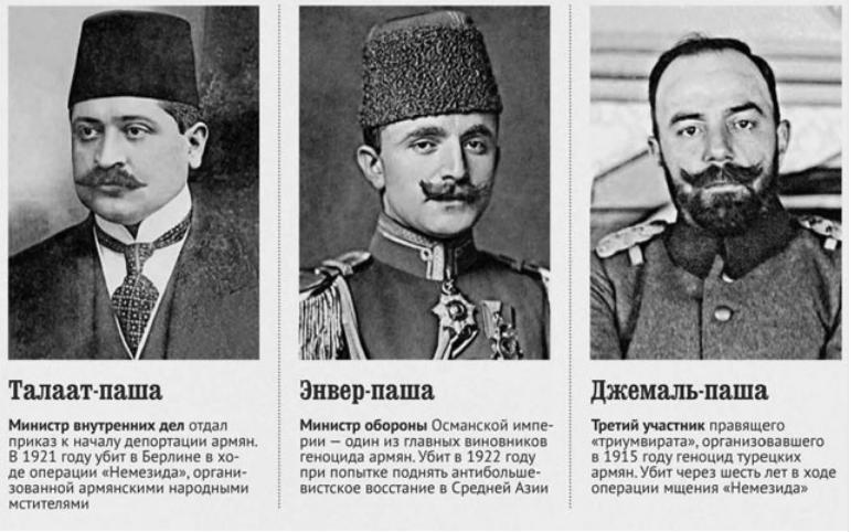 в каком году турки вырезали армян
