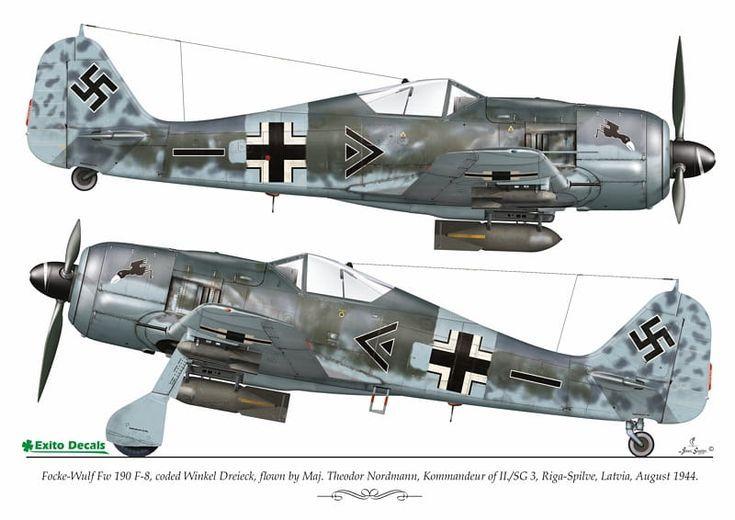 самолет фокке вульф 190
