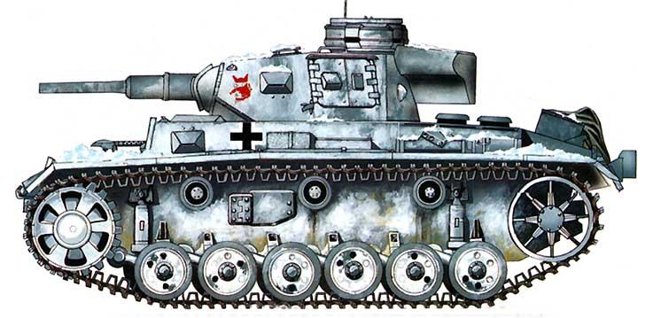 танк пз 3
