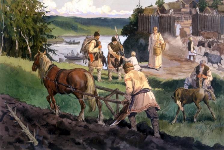 древние славянские племена