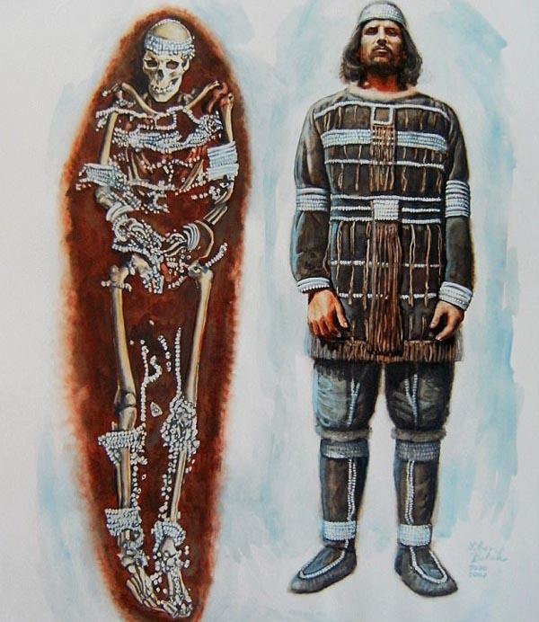 как одевались древние славяне