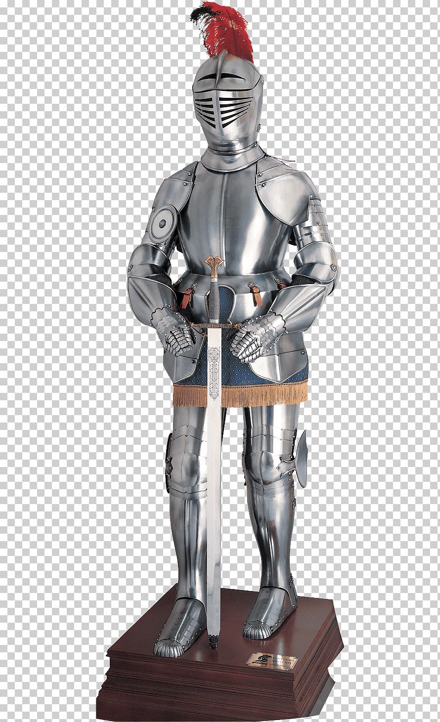 рыцарские доспехи средневековья