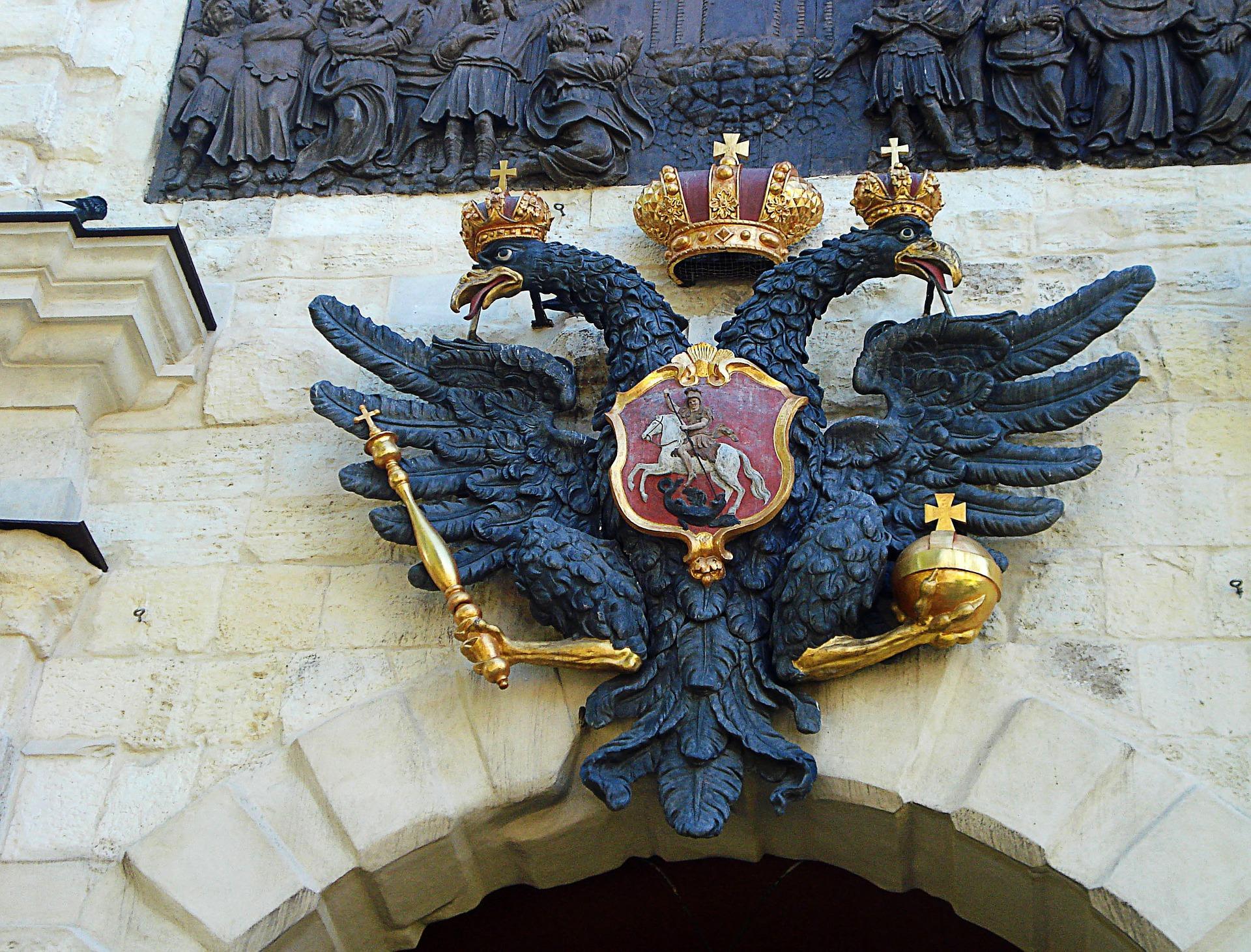 введение государственного герба двуглавого орла