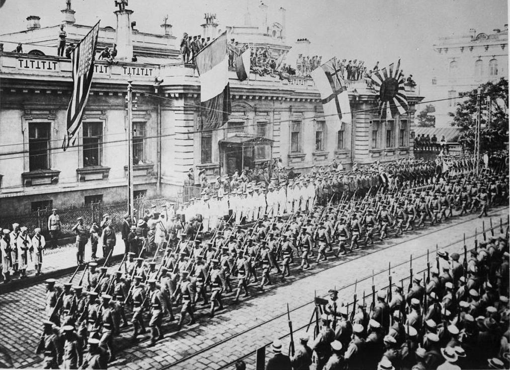 интервенция сша в россию 1918 1922