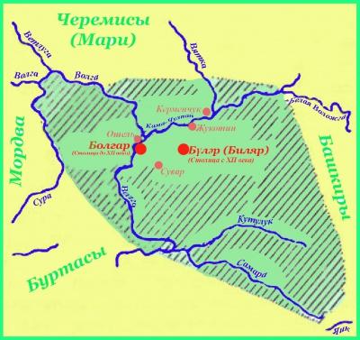 правители волжской булгарии