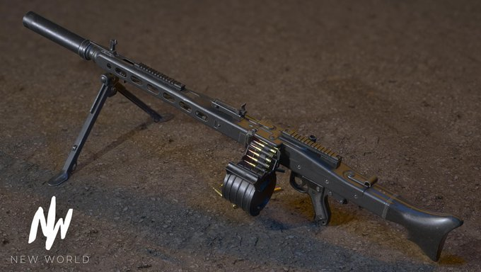 пулемет мг3