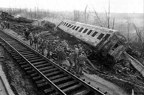 катастрофы на железной дороге