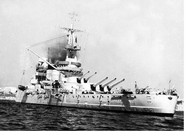 крейсер новороссийск
