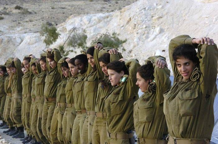 женщины в армии израиля
