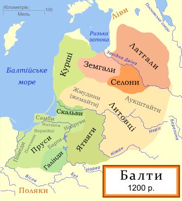 древние балты