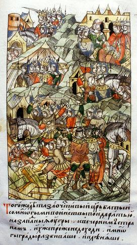 разгром татаро монгольского ига