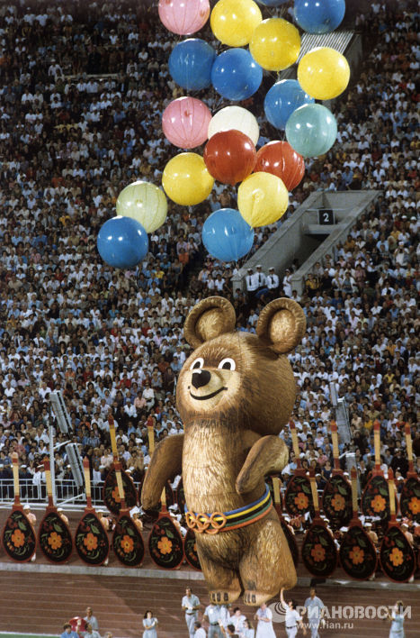 талисман олимпийских игр в москве
