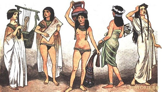 как одевались жрецы в древнем египте