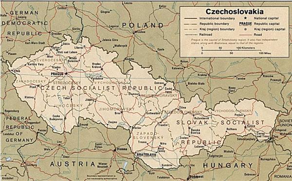 аннексия чехословакии
