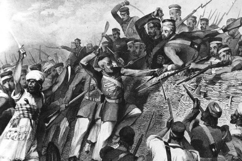 восстание сипаев в индии
