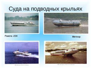 ракета на подводных крыльях