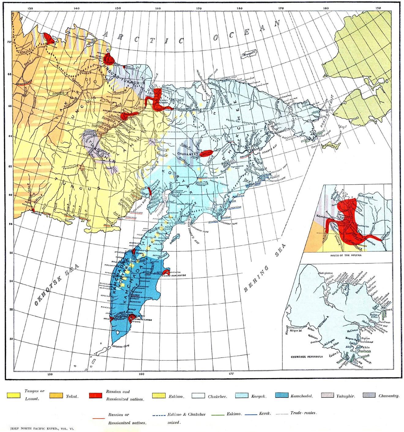 1 и 2 камчатские экспедиции
