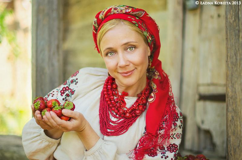 народный костюм украинцев
