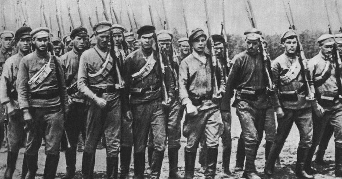 программа красных в гражданской войне