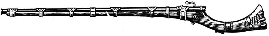 в каком веке появилось огнестрельное оружие