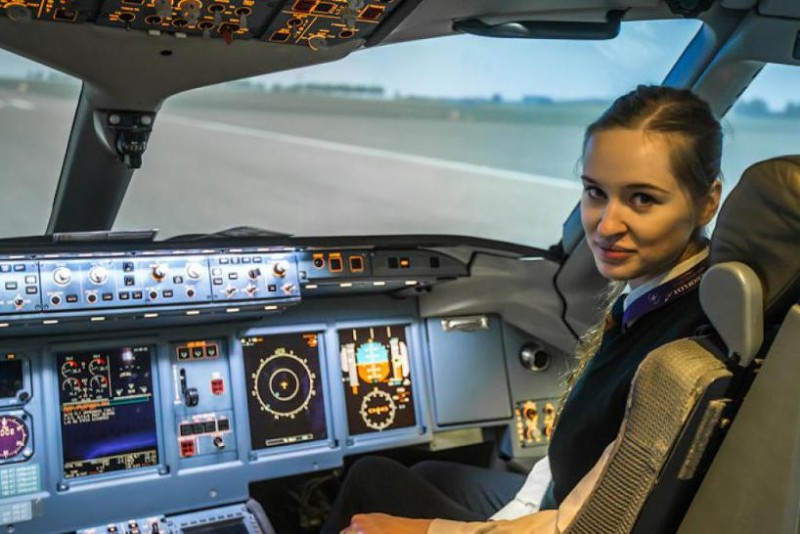 женщины пилоты гражданской авиации в россии