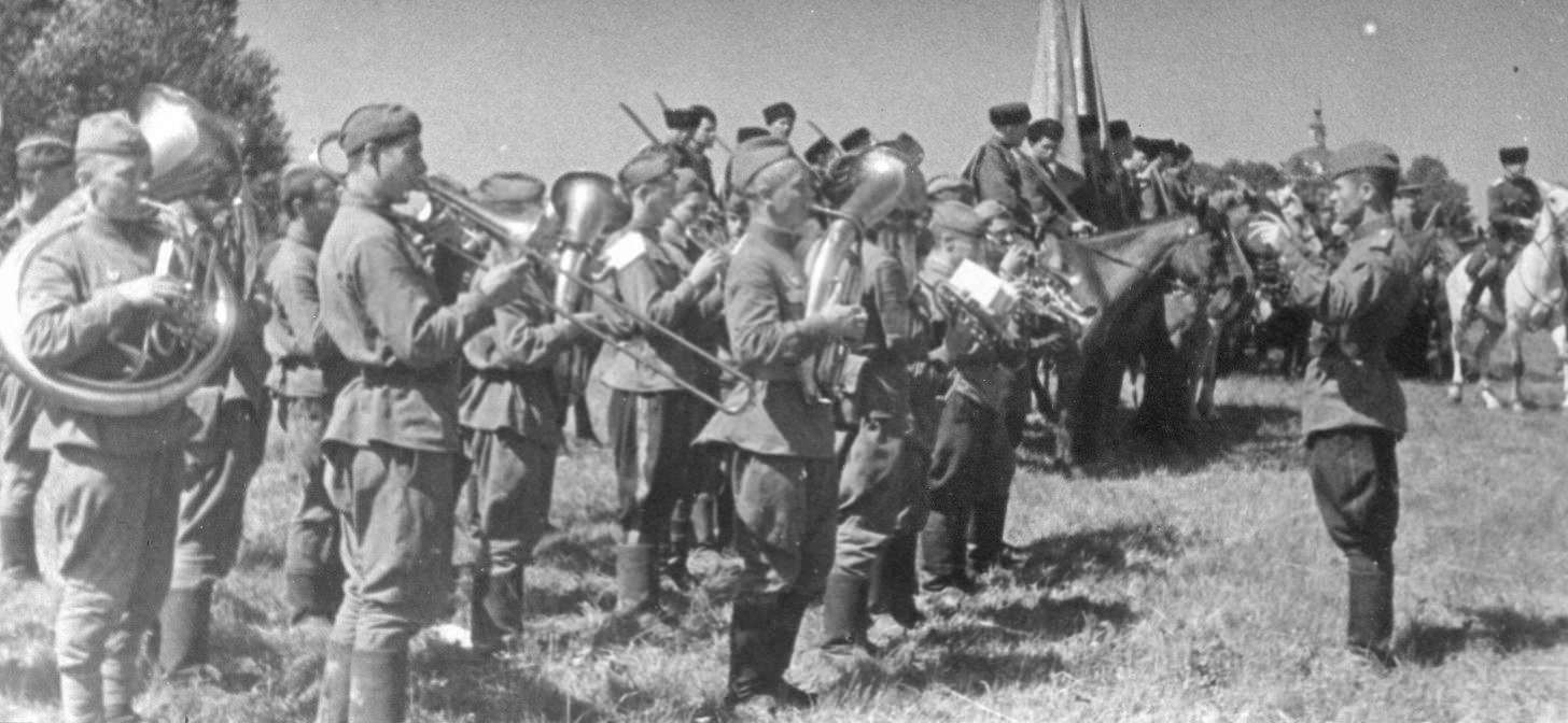 кто написал марш прощание славянки