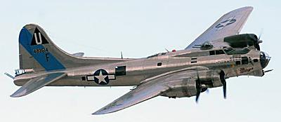 b 17 самолет