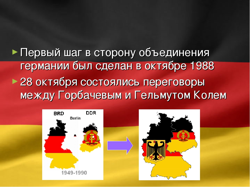 объединение германии доклад