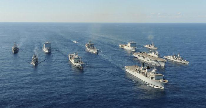 английский флот