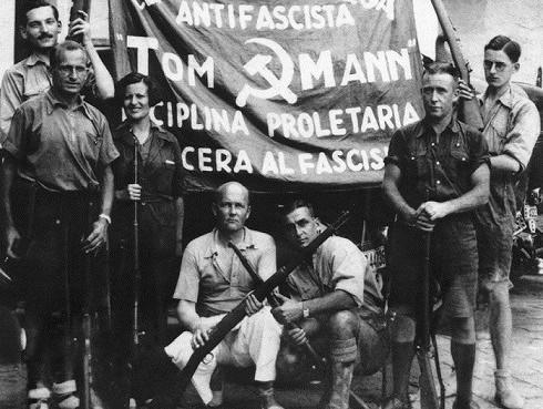 фашистский мятеж и гражданская война в испании