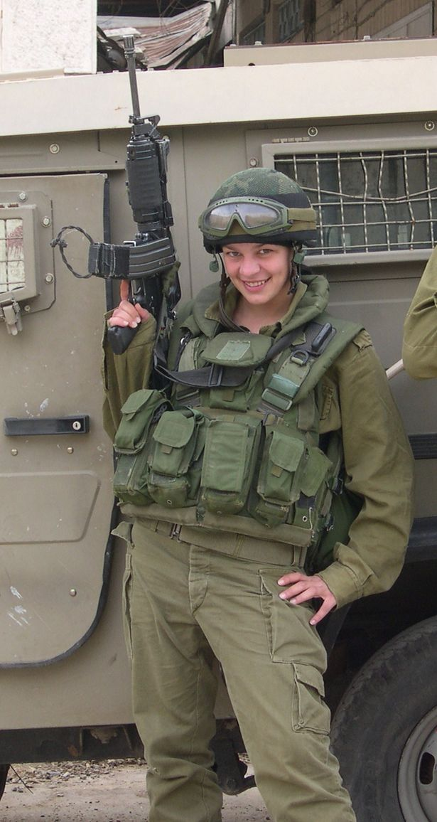 израильтянки в армии