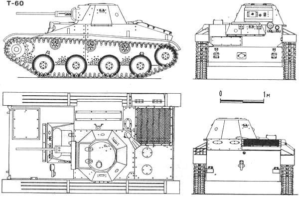 танк т 60