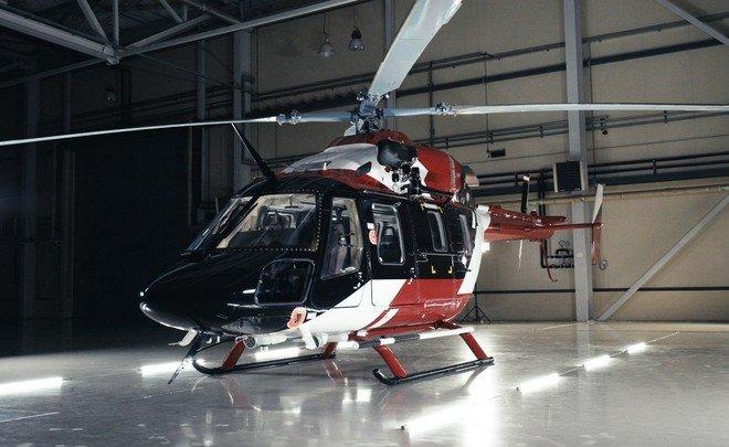 медицинский вертолет ансат
