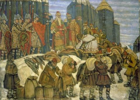 дань с русских земель золотой орде