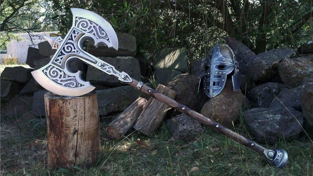 топорик викинга