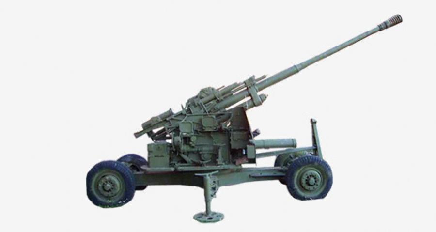 зенитные пушки