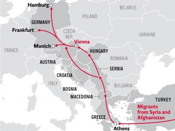 миграция в южной европе