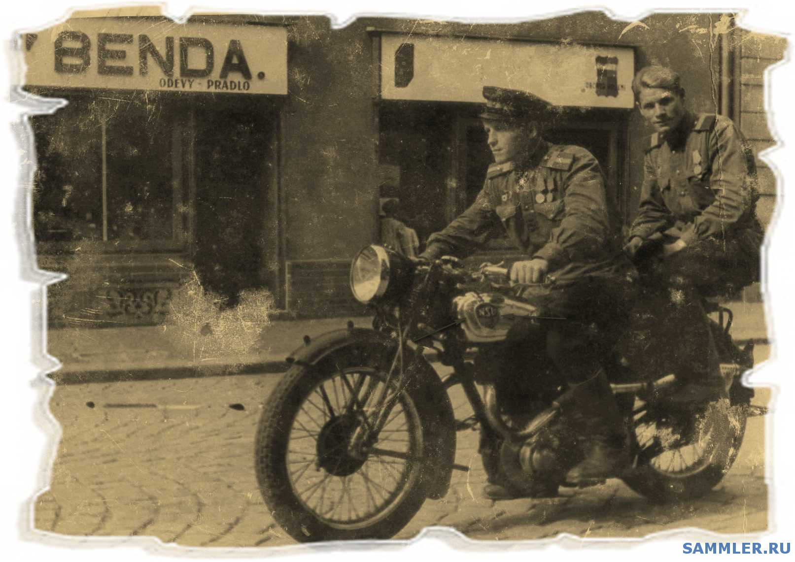 немецкий мотоцикл 2 й мировой